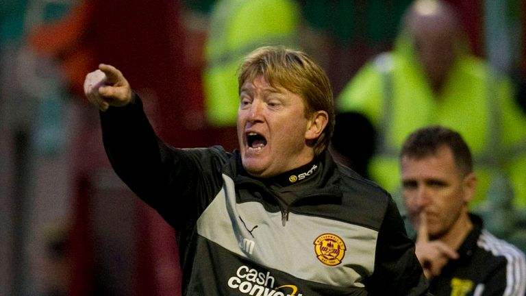 Stuart McCall: Expects to sign a new deal as Motherwell manager this week