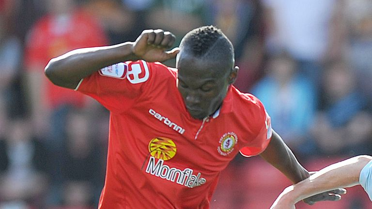 Abdul Osman: Keen to chip in with some goals