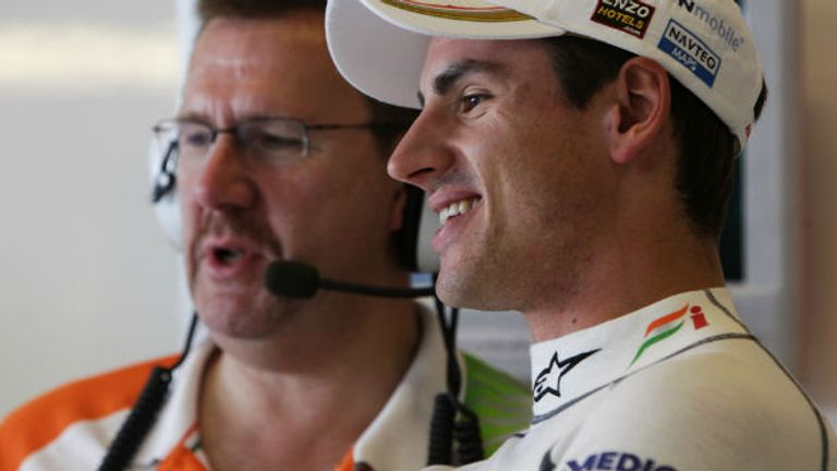 Adrian Sutil: Could test in Barcelona next week