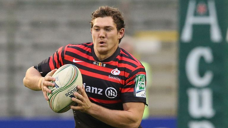 Alex Goode has been ruled out of Saracens' clash with Racing Metro
