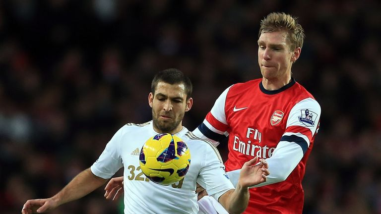 Per Mertesacker: Praised by Arsene Wenger for performances this season