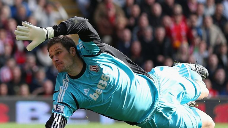 Asmir Begovic: Stoke keeper not thinking about his future