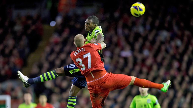 Benteke: will he boss Liverpool again?