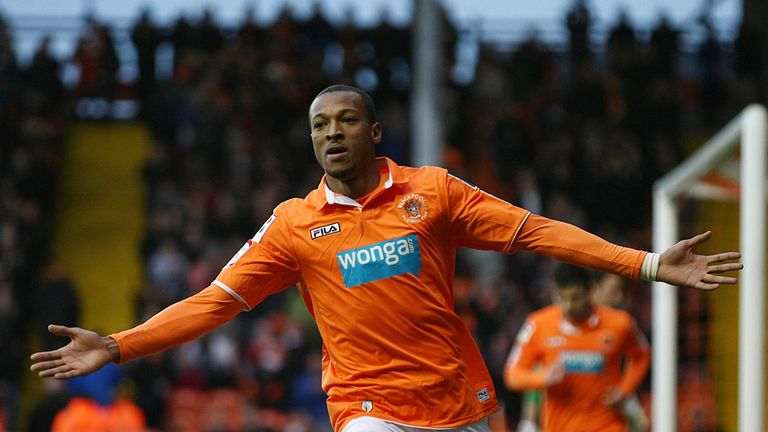 Wes Thomas: Impressed during a loan spell at Blackpool