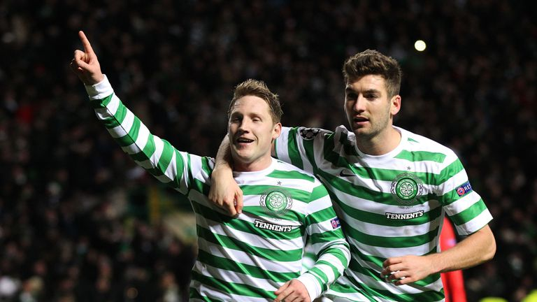 Kris Commons: Hoping to face Manchester United in the last 16 of the Champions League
