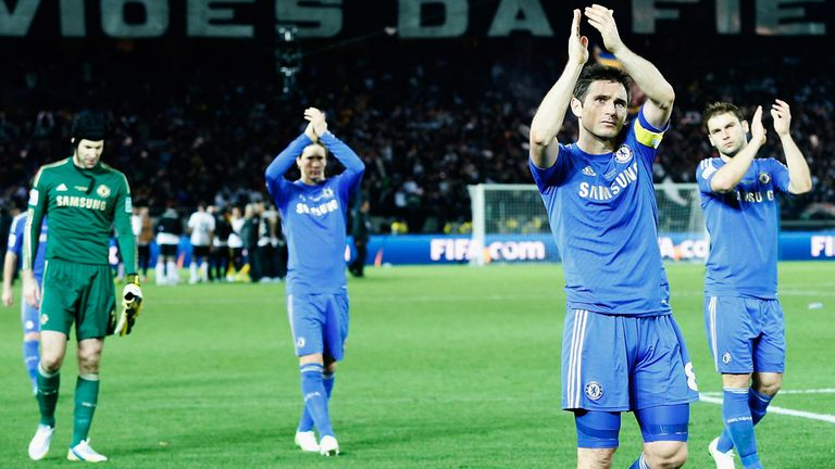 Chelsea's players applaud their supporters after the Club World Cup final, but their failed to match up to expectations.