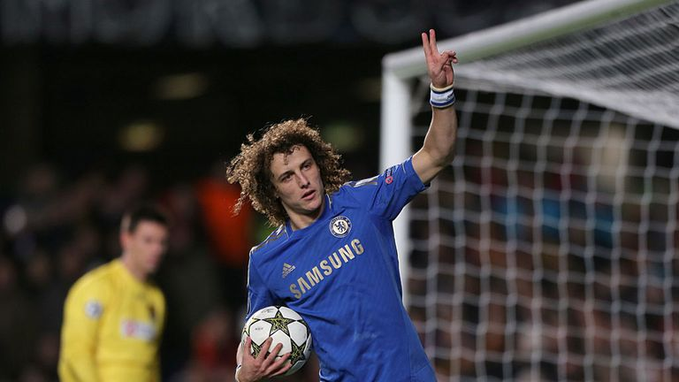 David Luiz was on target with a spot-kick in the victory over Nordsjaelland