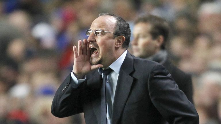 Rafa Benitez: Pleased with Chelsea performances