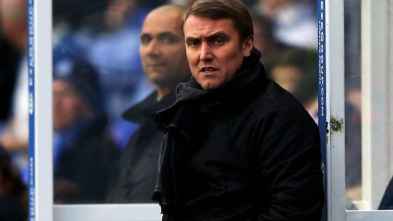 Lee Clark: Hailed Jack Butland after the 2-2 draw with Brighton