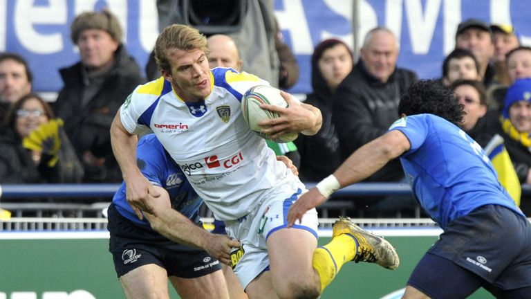 Clermont captain Aurelien Rougerie led a ruthless display at Leinster