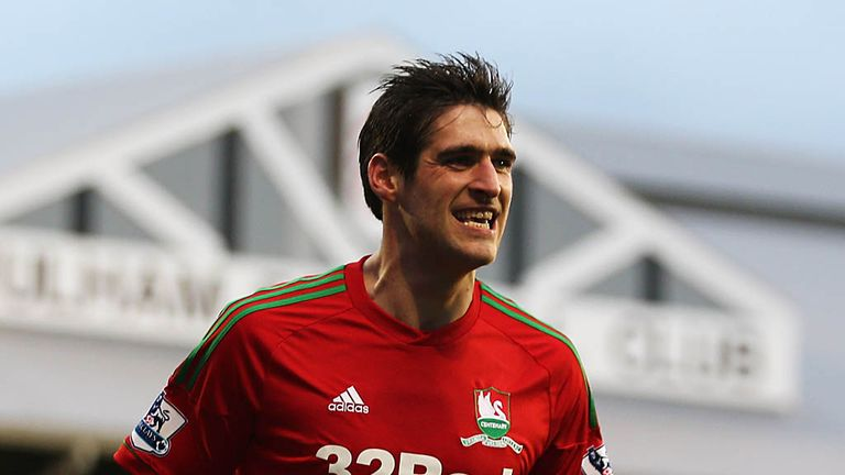 Danny Graham: Found the net in Swansea's 2-1 win at Fulham
