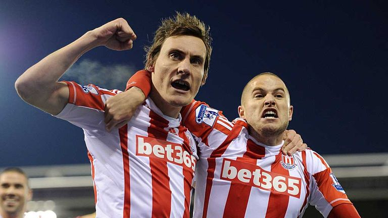 Dean Whitehead: Delighted with Stoke's recent form