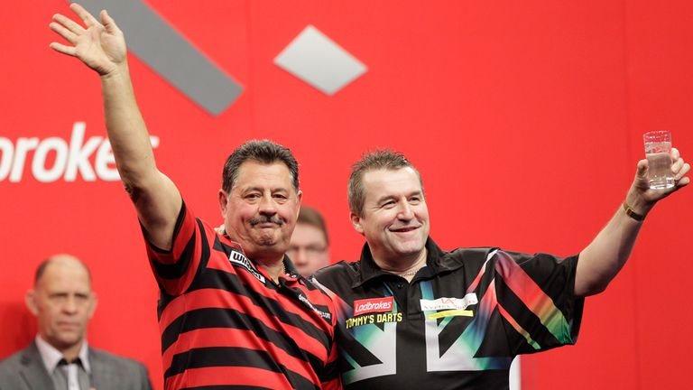Priestley: is defeat to Baxter his last World Championship match?