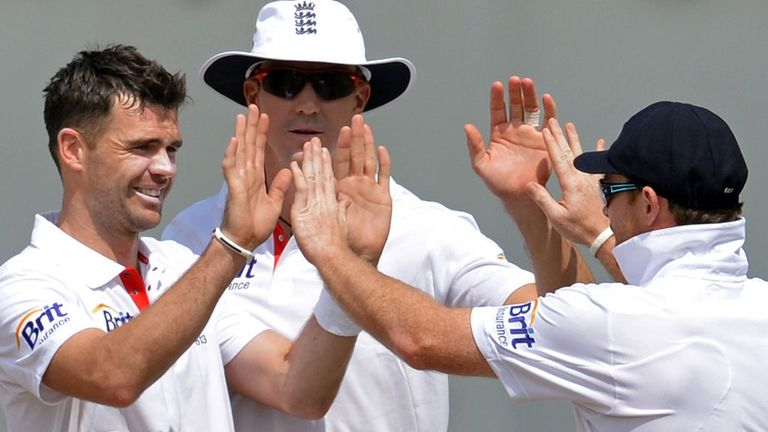 Celebrate: England ended a long wait for a series win in India