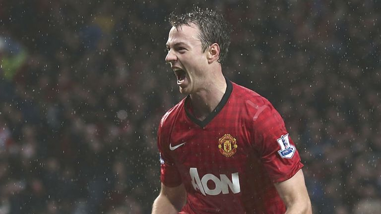 Jonny Evans: Keen to reach heights of Rio Ferdinand and Nemanja Vidic