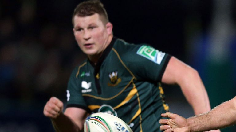 Dylan Hartley: Faces a disciplinary hearing on Thursday following an incident with Rory Best