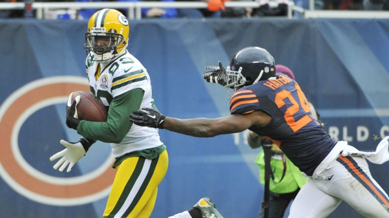 James Jones: three touchdown receptions for the Green Bay Packers