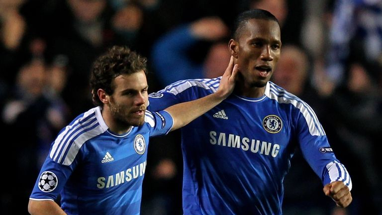 Juan Mata: Believes Chelsea are missing Didier Drogba