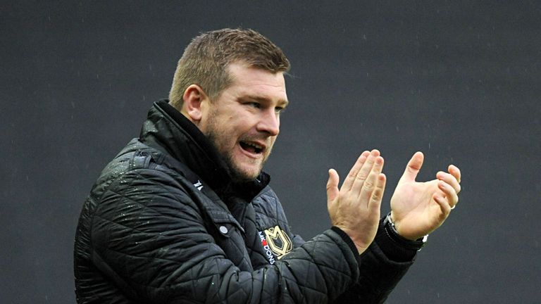 Karl Robinson: Proud of his side's FA Cup win over QPR