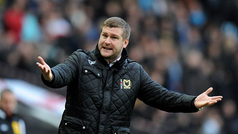 Karl Robinson: Into third year as MK Dons manager