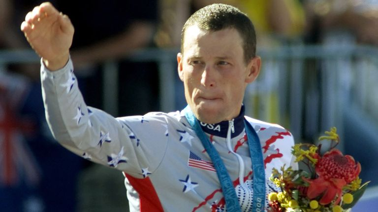 Lance Armstrong: Could lose his Olympic bronze medal