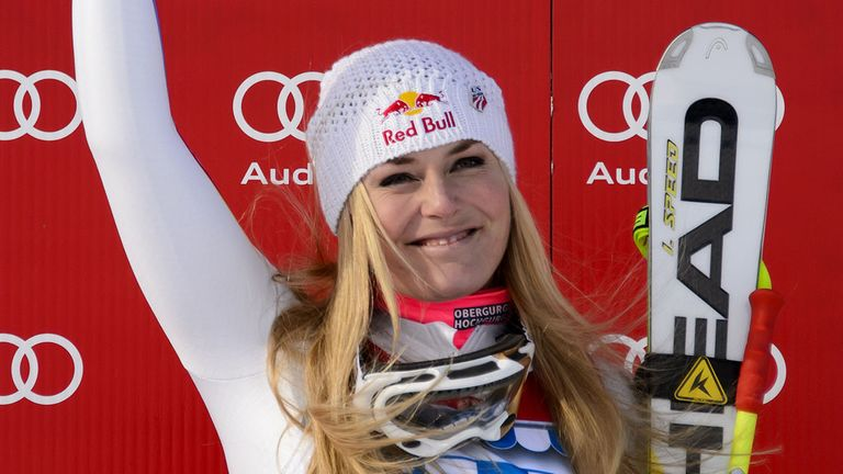 Lindsey Vonn: Has now captured the 17th World Cup title of her career