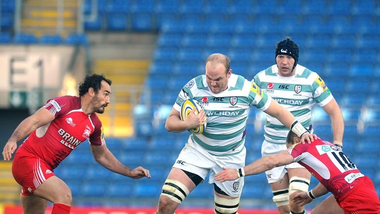 Matt Garvey: London Irish form earned him England Saxons recognition