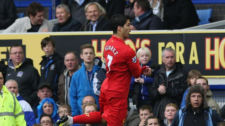 Luis Suarez: Attracts plenty of criticism from opposition supporters