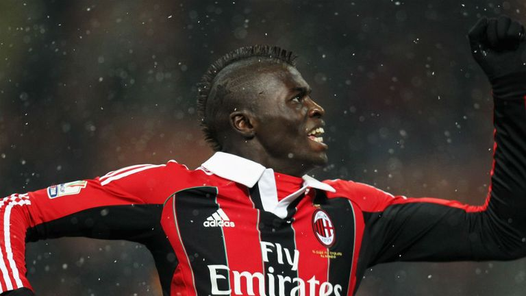 M'Baye Niang: In action for AC Milan