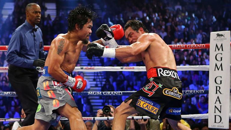 Manny Pacquiao: Stopped by Juan Manuel Marquez in December