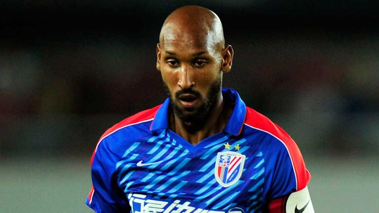 Nicolas Anelka: Joins his sixth English club