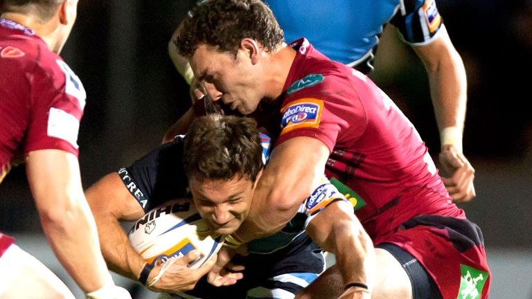 George North: Returns for Scarlets