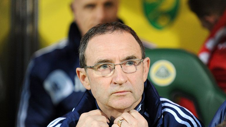 O'Neill: the Ulsterman's side lie just outside the relegation places