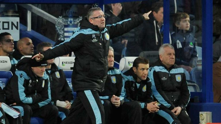 Paul Lambert: Boss pleased with progress being made at Aston Villa