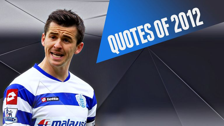 Joey Barton leads the way in our annual round-up of the great and the good