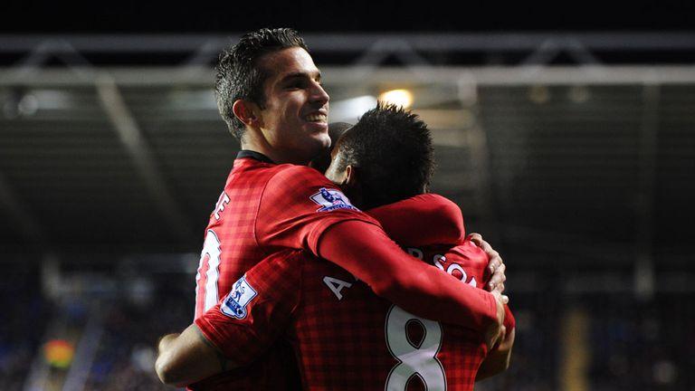 Robin van Persie: Grabbed the winner for Man United