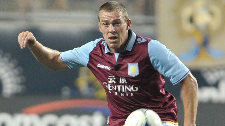 Richard Dunne: Villa defender yet to play during 2012/13 season