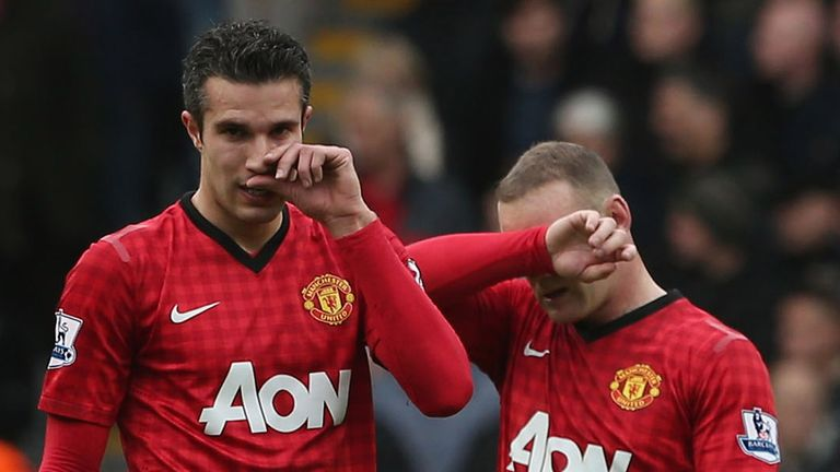 Robin van Persie and Wayne Rooney: Twin threat