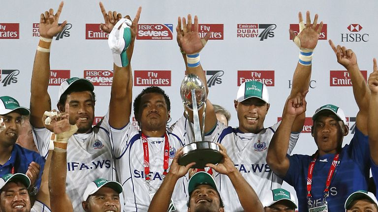 Samoa: Claimed victory in the Dubai Sevens