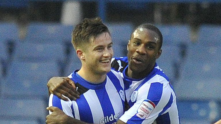 Michail Antonio (R): On target for Sheffield Wednesday