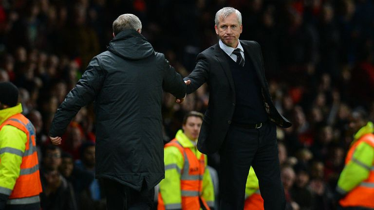 Alan Pardew: Admits Newcastle simply ran out of steam against Arsenal