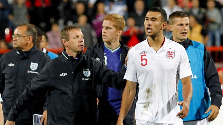 Steven Caulker: Punished for incident at the end of England U21 play-off