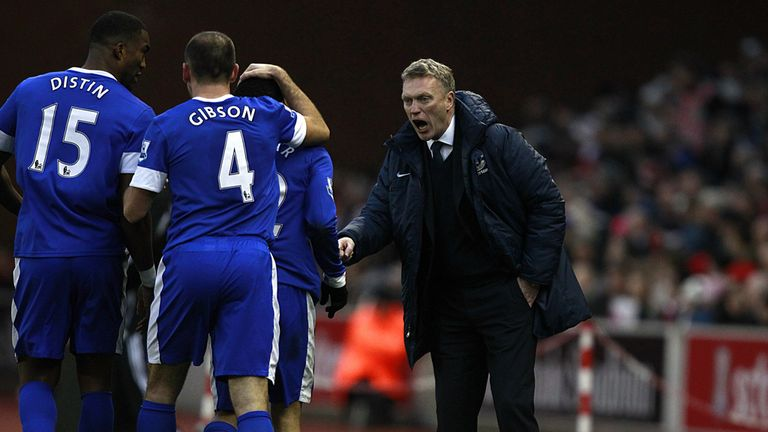 David Moyes: Everton manager looking forward to coming up against Rafael Benitez on Sunday