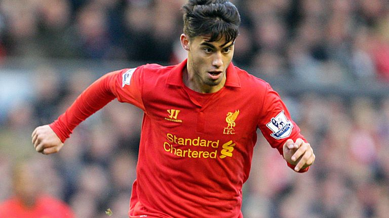 Suso: Made 20 appearances for Liverpool in the 2012/13 season