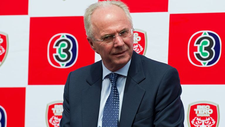 Sven-Goran Eriksson: Has received Ukraine offer