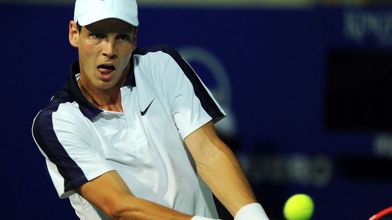 Tomas Berdych: The world No 6 plays in Chennai