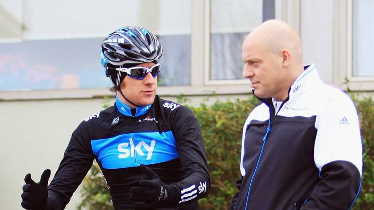 Dave Brailsford hinted that Bradley Wiggins will focus on the Giro d'Italia next year