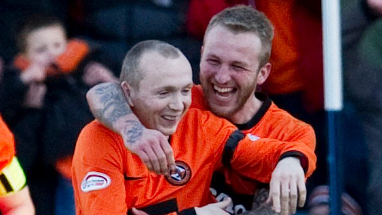 Willo Flood: Enjoying his football at Dundee United