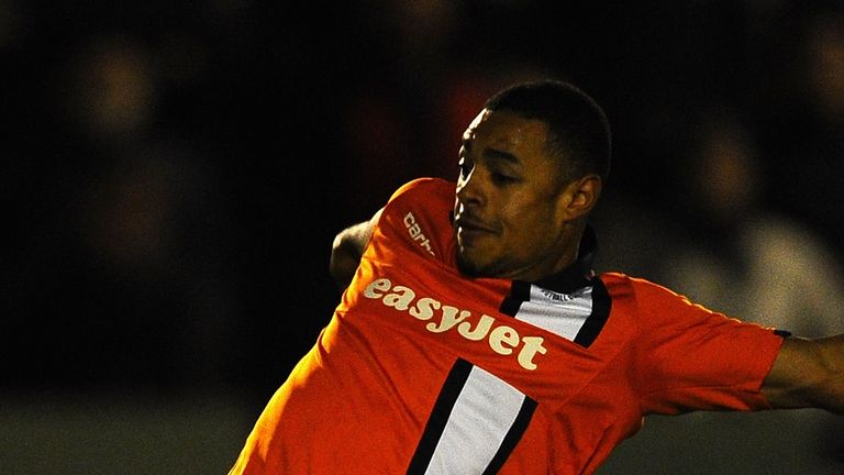 Andre Gray: Grabbed winner for Luton
