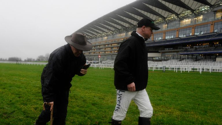 Ascot: Frost covers have been deployed